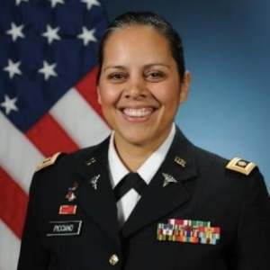 MAJ Hali Picciano a Survivor Advocate for Survivors of Sexual Assault, Intimate Partner Violence, Domestic Violence and congressional venues for resource programs. She is passionate about awareness and prevention.